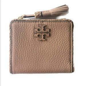 Tory Burch Taylor Mini Wallet Devon Sand